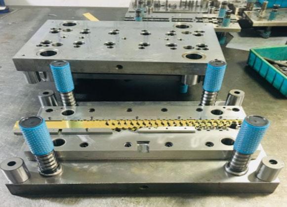 Custom mold stamping