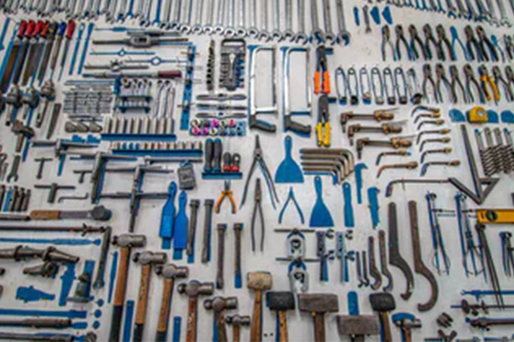 an array of tools